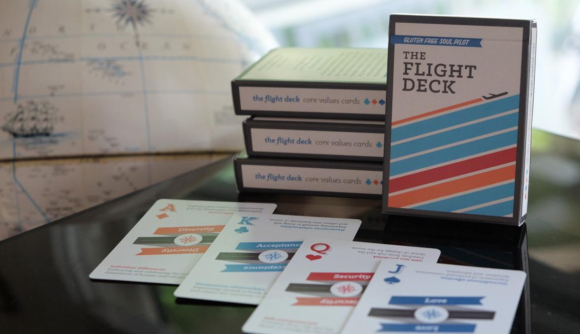 flight deck personal core values cards exercise kristen alden