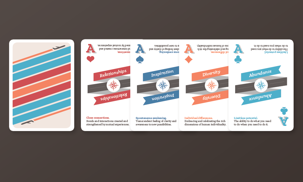 flight deck personal core values cards exercise