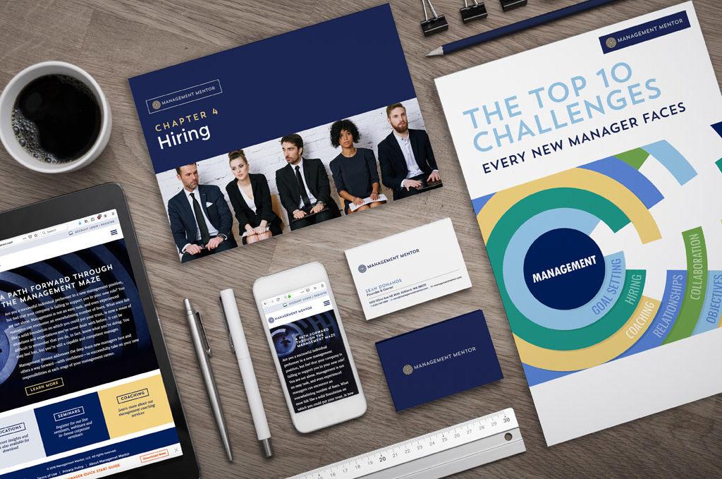 management mentor comprehensive brand identity design atlanta