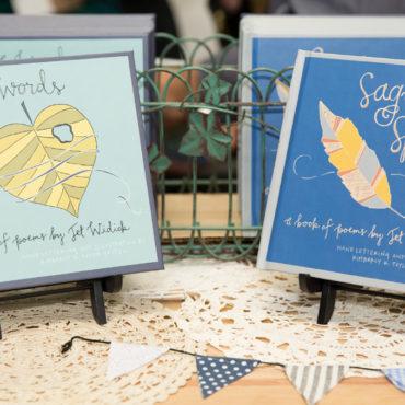kimberly taylor-pestell handlettered book design sage words sage spirit creative direction