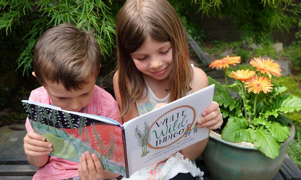 children's illustrated book layout design