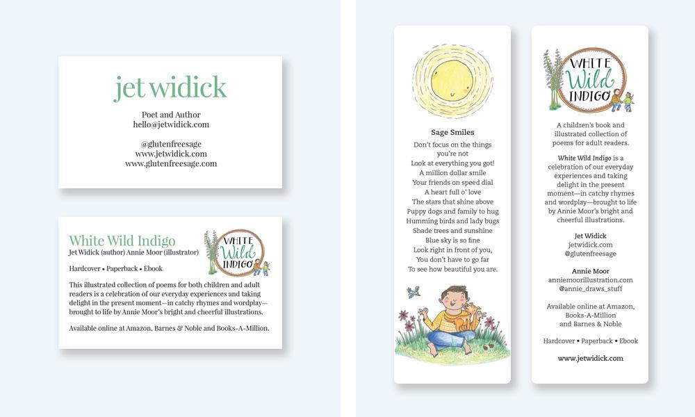 author marketing collateral atlanta creative direction children's books graphic design