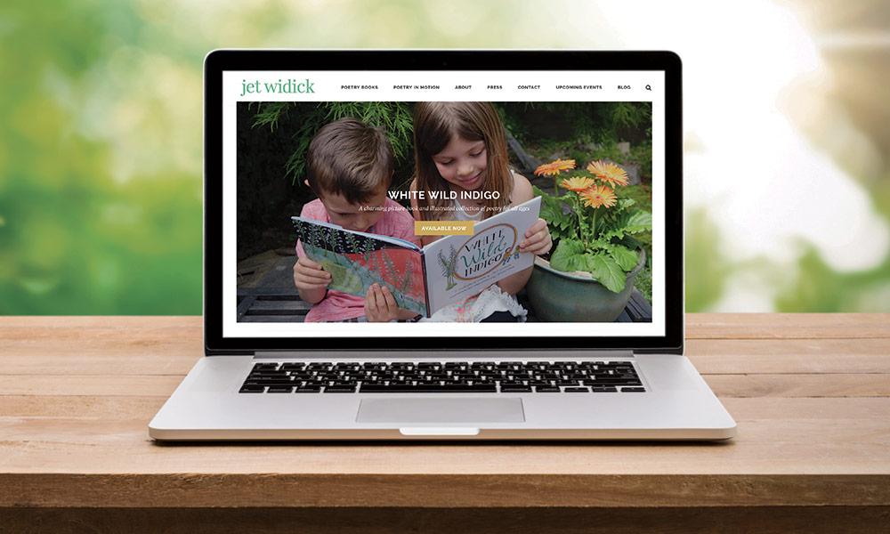 author website design atlanta creative direction children's illustrated books