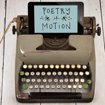 animated poetry in motion creative direction kristen alden
