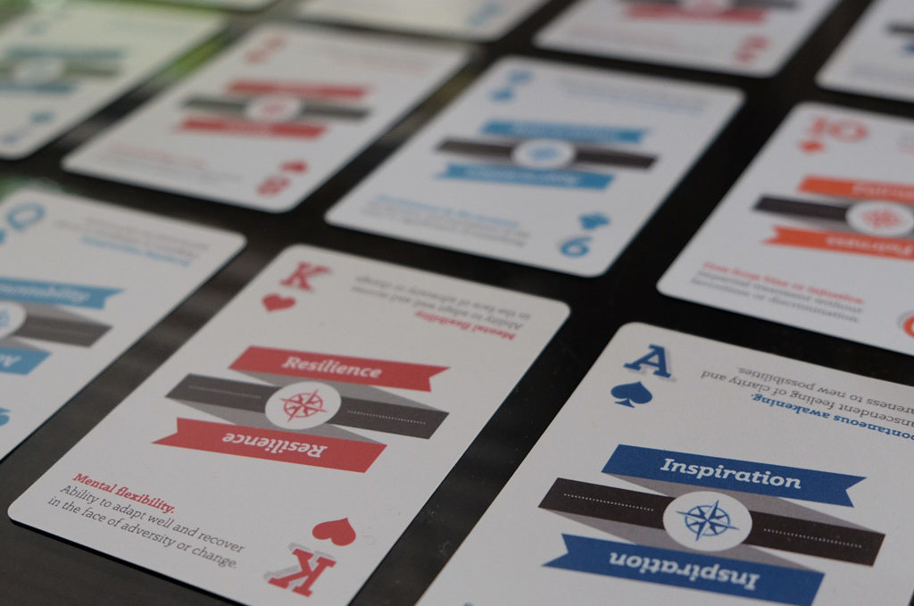 flight deck persona core values cards exercise